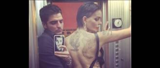 Nina Moric con il marito (Foto Instagram)