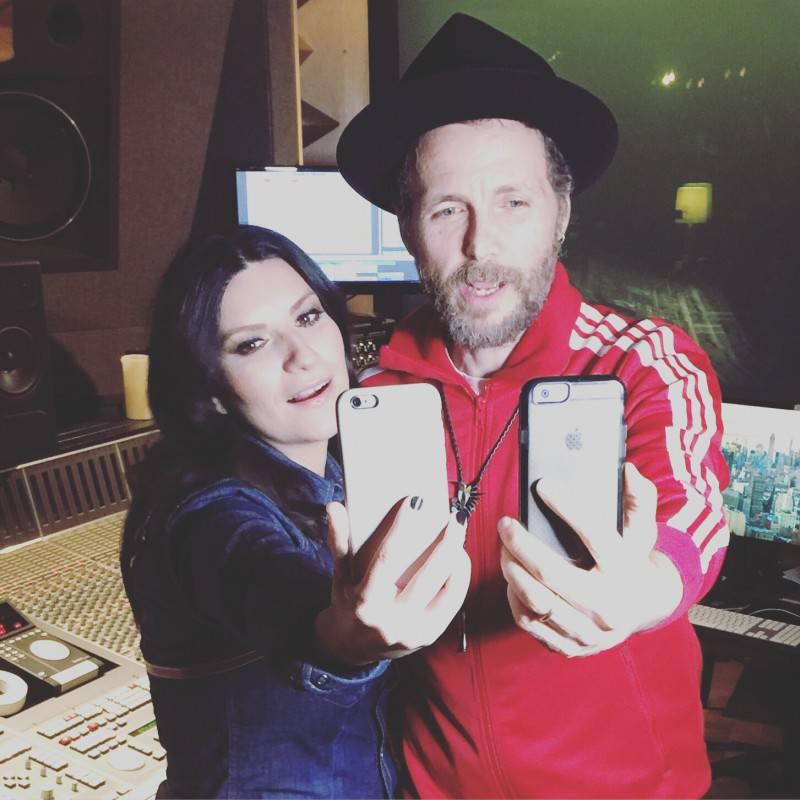 Laura e Lorenzo in studio a New York