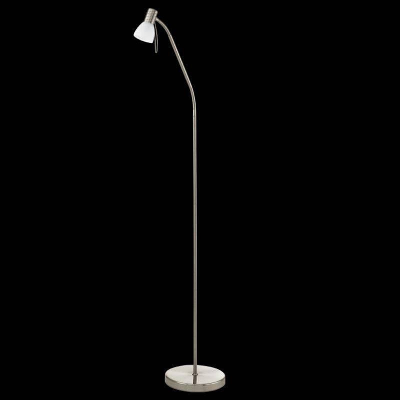 Piantana a una luce nickel con vetro - Ebay - 83,10€