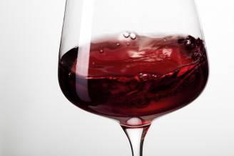 Bicchiere di vino rosso (Thinkstock)