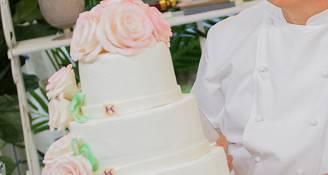 Wedding cake (Bake Off Italia)