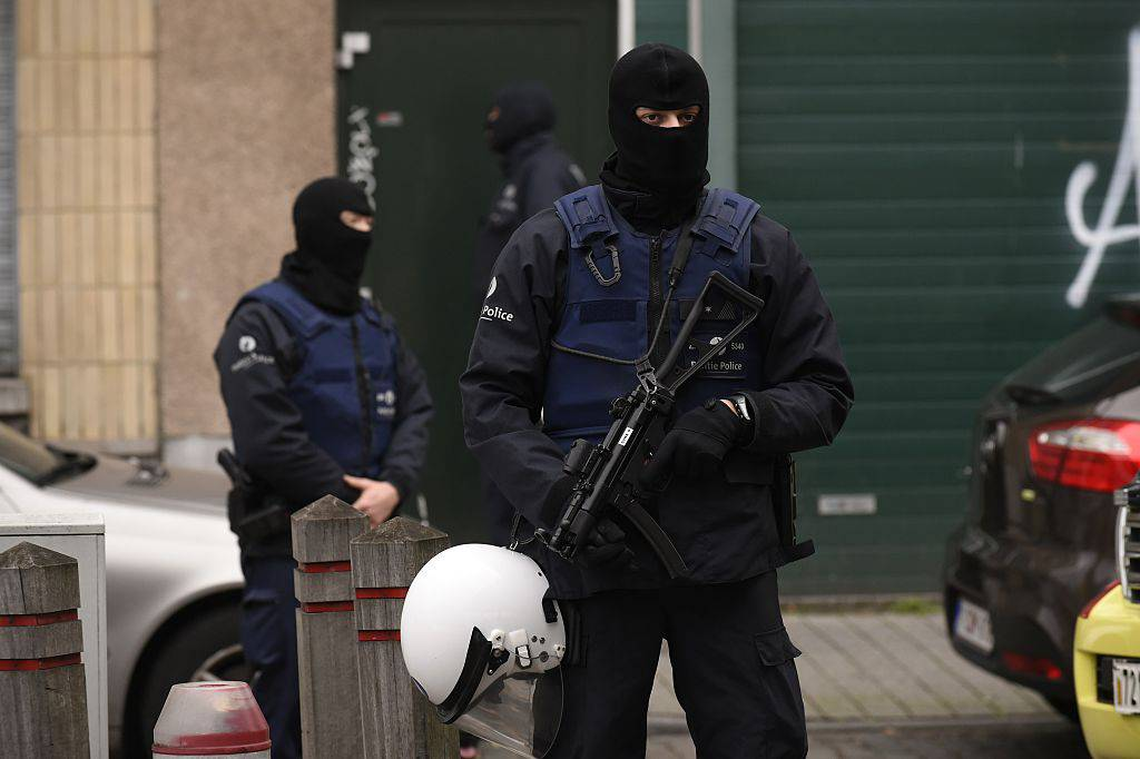 Blitz delle forze speciali in Belgio (JOHN THYS/AFP/Getty Images)