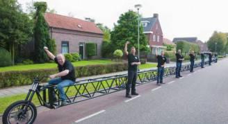 La bicicletta più lunga del mondo, Guinnes World Records 2016
