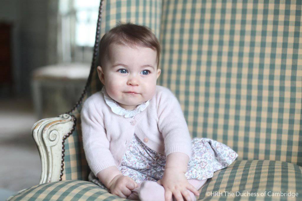 La principessina Charlotte Elizabeth Diana (Foto Kensignton Palace)