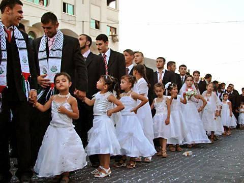 Le finte spose bambine di Hamas (Foto web)