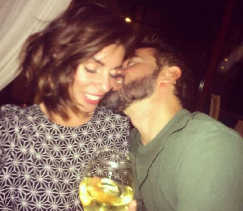 Bianca Atzei e Max Biaggi (Foto Twitter)