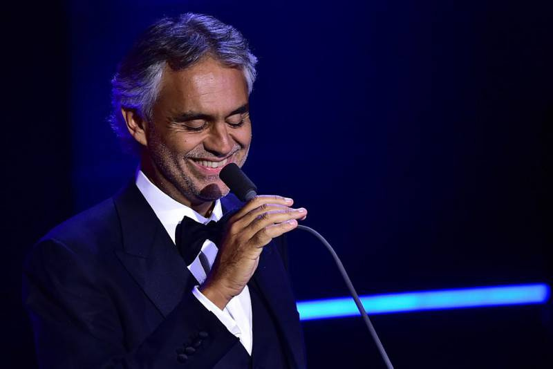 Andrea Bocelli (GIUSEPPE CACACE/AFP/Getty Images)