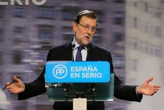 elezioni in Spagna, il premier Rajoy (CESAR MANSO/AFP/Getty Images)