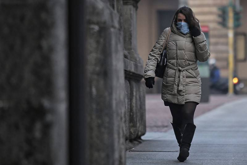 Inquinamento (MARCO BERTORELLO/AFP/Getty Images)