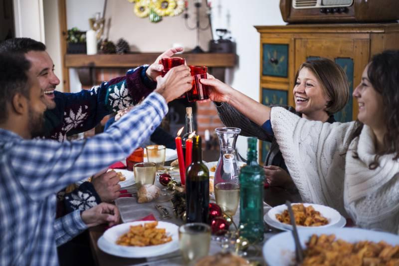 Natale a tavola (Thinkstock)