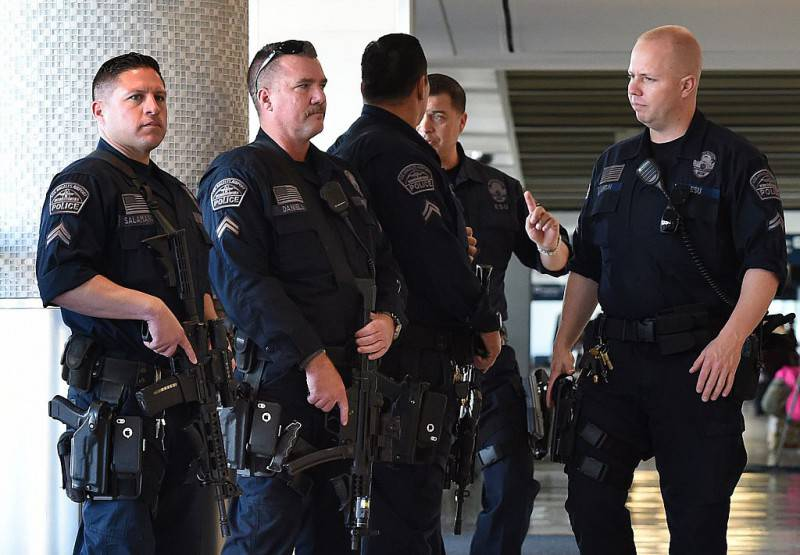Polizia Los Angeles (Getty Images)