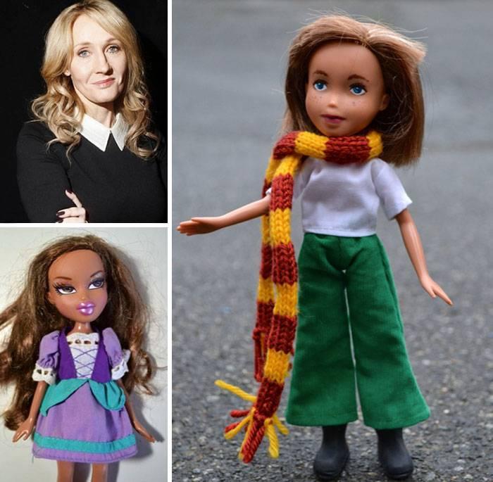 J.K. Rowling, scrittrice inglese, famosa per la saga di Harry Potter.