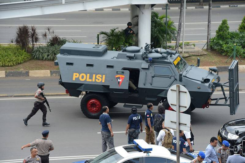 Attentati a Giacarta, Indonesia (ROMEO GACAD/AFP/Getty Images)