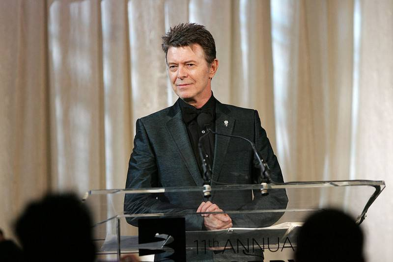 David Bowie (Bryan Bedder/Getty Images)