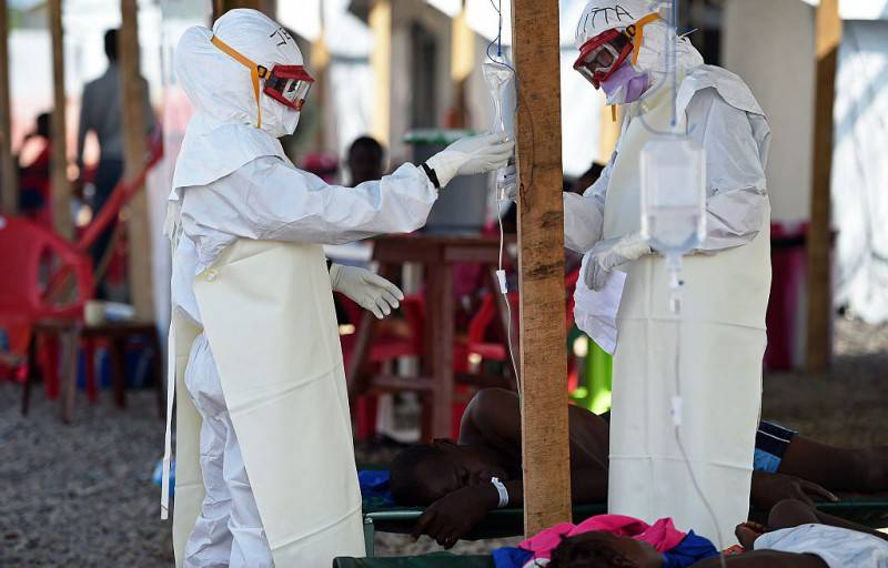 Ebola in Sierra Leone, repertorio (FRANCISCO LEONG/AFP/Getty Images)