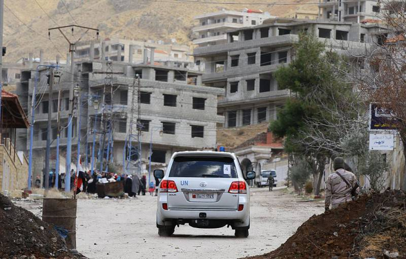 Madaya, Siria (LOUAI BESHARA/AFP/Getty Images)