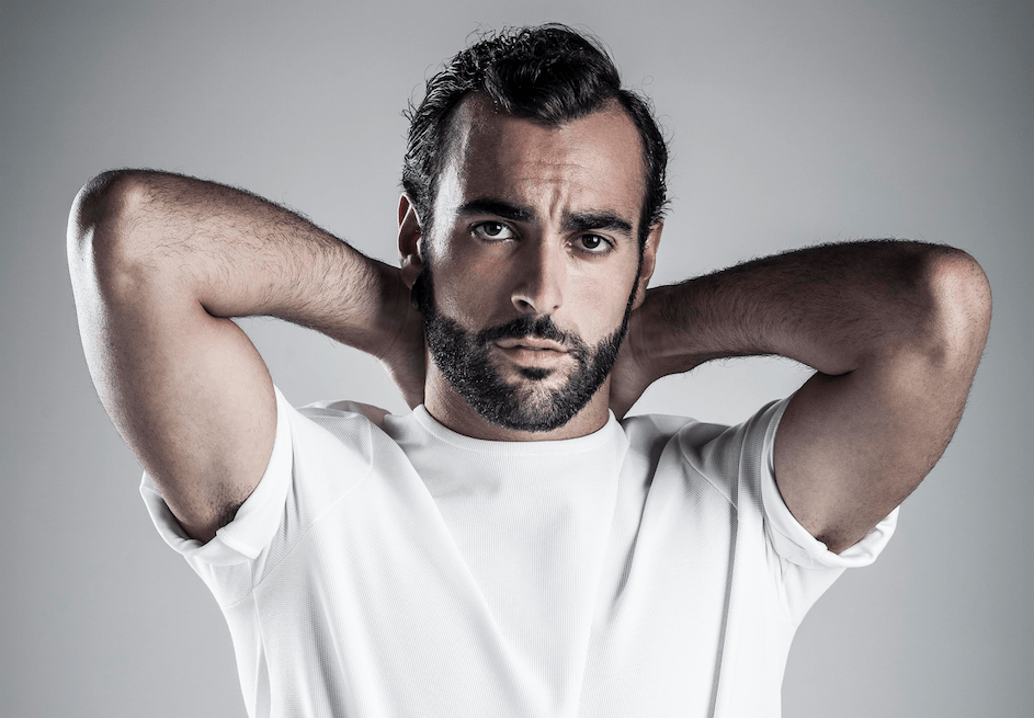 Marco Mengoni fa la pizza, il post su Instagram (Getty Images)
