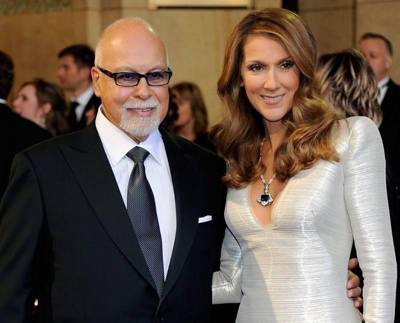 René Angélil e Céline Dion (Ethan Miller/Getty Images)