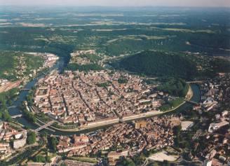 Besançon e il fiume Dobus (Wikipedia CC BY SA 3.0)