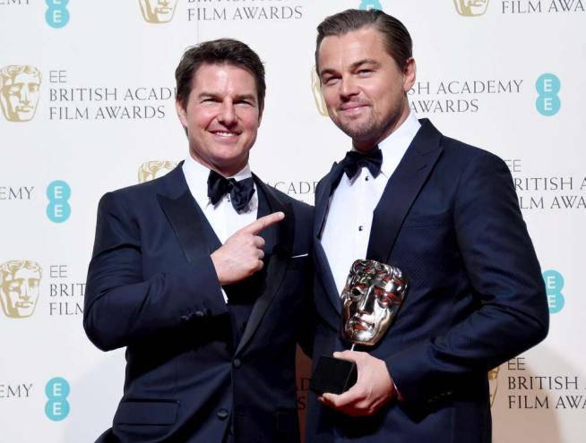 Tom Cruise e Leonardo Di Caprio