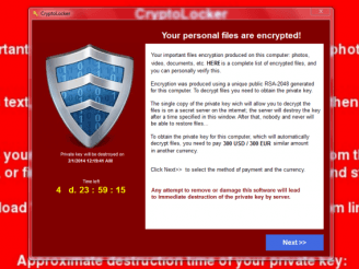 Il virus Cryptolocker