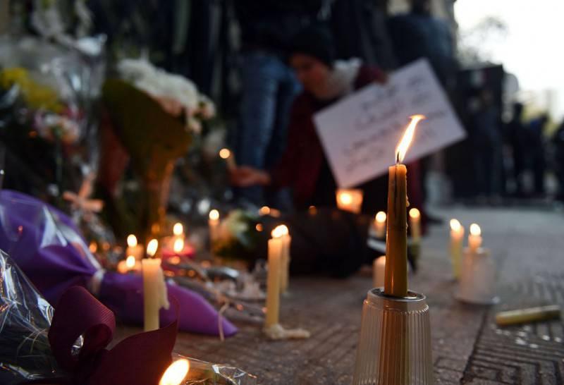 L'omaggio a Giulio Regeni al Cairo (MOHAMED EL-SHAHED/AFP/Getty Images)