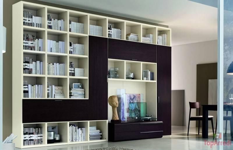 Libreria Moderna Soggiorno – Sfondo