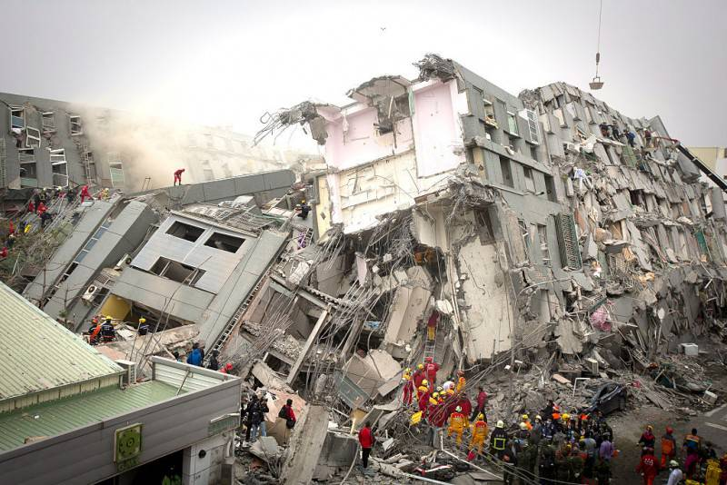 Terremoto a Taiwan (Ashley Pon/Getty Images)