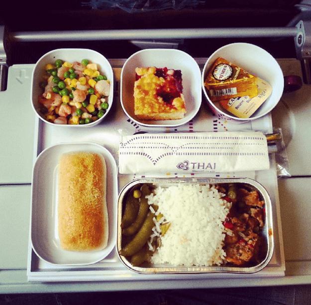 Thai Airways (Instagram: @inflightfeed)