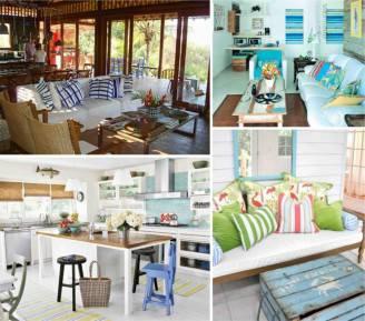 Arredare la casa al mare con semplicit e freschezza - Arredamento casa mare piccola ...