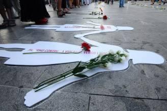 Flash mob contro il femminicidio
