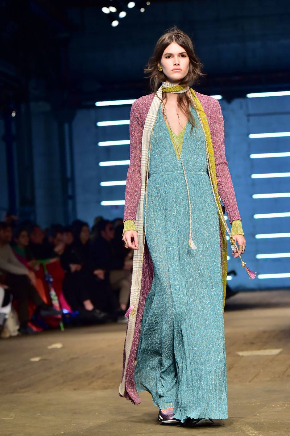 Missoni, Women Autumn / Winter 2016 Milan Fashion Week (Photo credit should read GIUSEPPE CACACE/AFP/Getty Images)