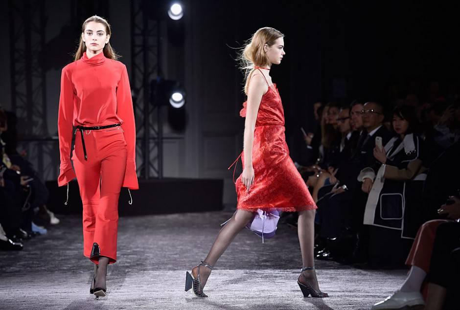 Nina Ricci, Paris Fashion Week Womenswear Fall/Winter 2016/2017 (Photo by Pascal Le Segretain/Getty Images)