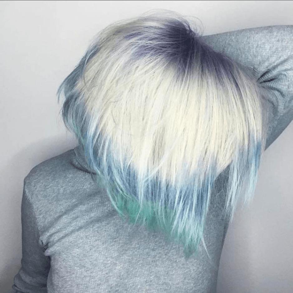 Flashlight hair