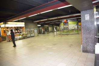 Attentato all'aeroporto di Zaventem Bruxelles del 22 marzo (HATIM KAGHAT/AFP/Getty Images)