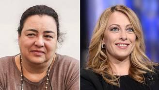 Patrizia Bedori e Giorgia Meloni