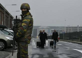 Controlli all'aeroporto di Bruxelles Zaventem (JOHN THYS/AFP/Getty Images)