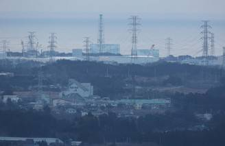 La centrale nucleare di Fukushima Daiichi (JIJI PRESS/AFP/Getty Images)