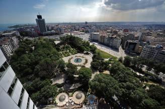 Istanbul, Gezi Park e Piazza Taksim (OZAN KOSE/AFP/Getty Images)