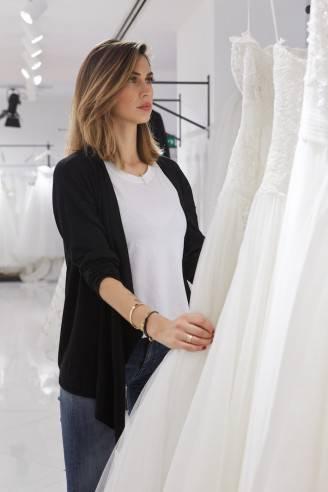 Melissa Satta sceglie l'abito da sposa (Dal blog di Melissa Satta)