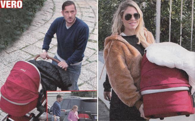 FrancescoTotti, Ilary, Isabel