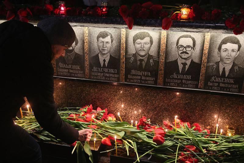 Commemorazioni per il 30° dal disastro di Chernobyl (Sean Gallup/Getty Images)