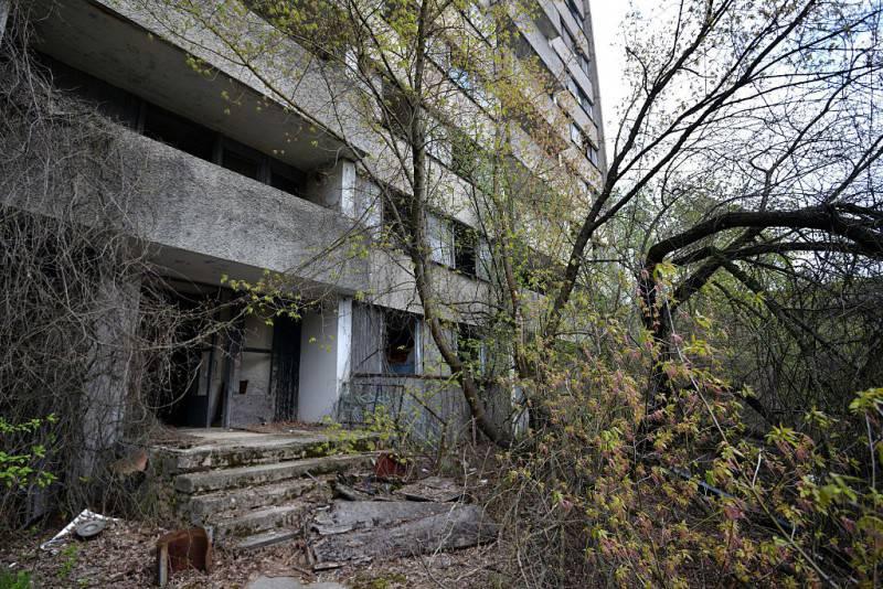 Disastro di Chernobyl, la città fantasma di Pripyat (GENYA SAVILOV/AFP/Getty Images)