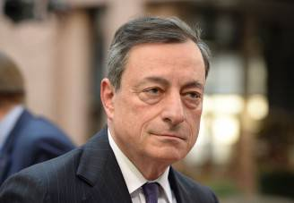 Mario Draghi (THIERRY CHARLIER/AFP/Getty Images)