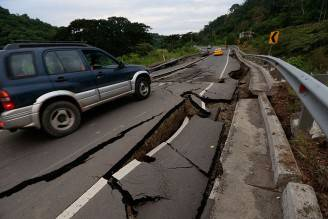 Terremoto in Ecuador (JUAN CEVALLOS/AFP/Getty Images)