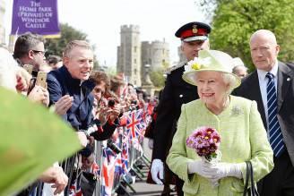 Elisabetta II festeggiata per il suo 90° compleanno (John Stillwell - WPA Pool/Getty Images)