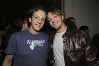 Gabriele e Silvio Muccino (Chris Jackson/Getty Images)