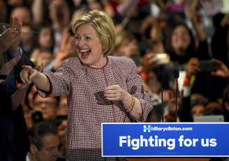 Hillary Clinton (TIMOTHY A. CLARY/AFP/Getty Images)