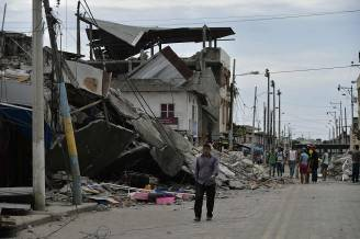 Terremoto in Ecuador (RODRIGO BUENDIA/AFP/Getty Images)