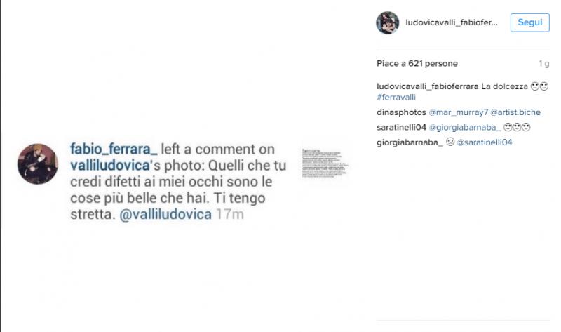 Instagram: Ludovica e Fabio